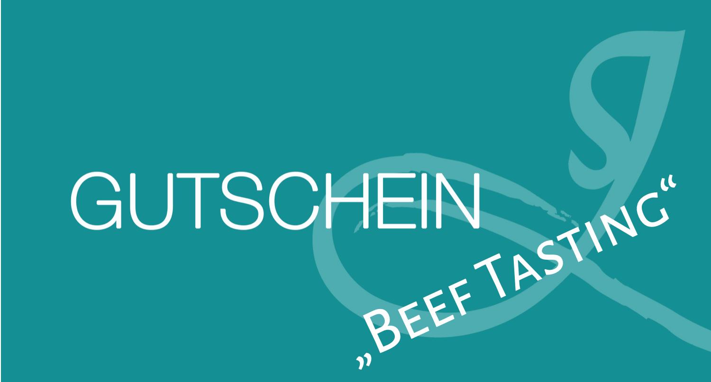 """Gutschein """"Beef Tasting"""""""