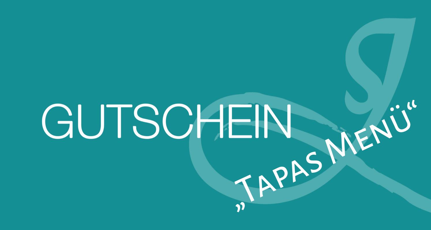 """Gutschein """"Tapas Menü"""""""