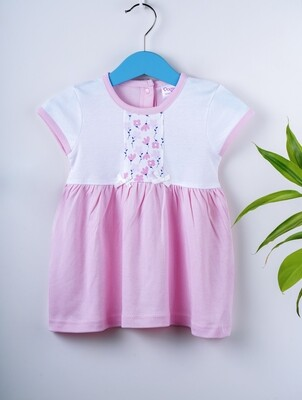 Avery Rose Half Sleeve Floral Design Frock with Bloomer XL (18-24 Months)