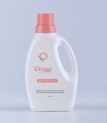 Anti-Bacterial & Anti-Fungal Baby Fabric Wash with Fragrance (500 ML)