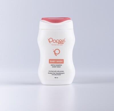 Gentle Baby Wash / Shampoo Enriched with Milk Protein (100 ML)