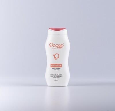 Gentle Baby Wash / Shampoo Enriched with Milk Protein (200 ML)