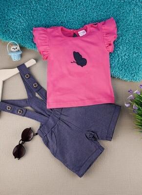 Amelia Azalea Pink for Baby Girls