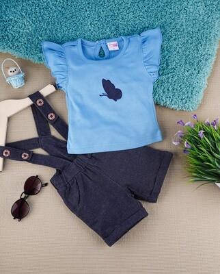 Amelia Dark Blue for Baby Girls
