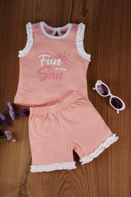 Portia Apricot Blush for Baby Girls