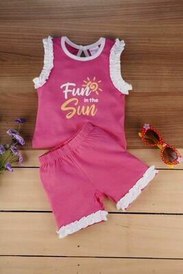 Portia Fuchsia for Baby Girls