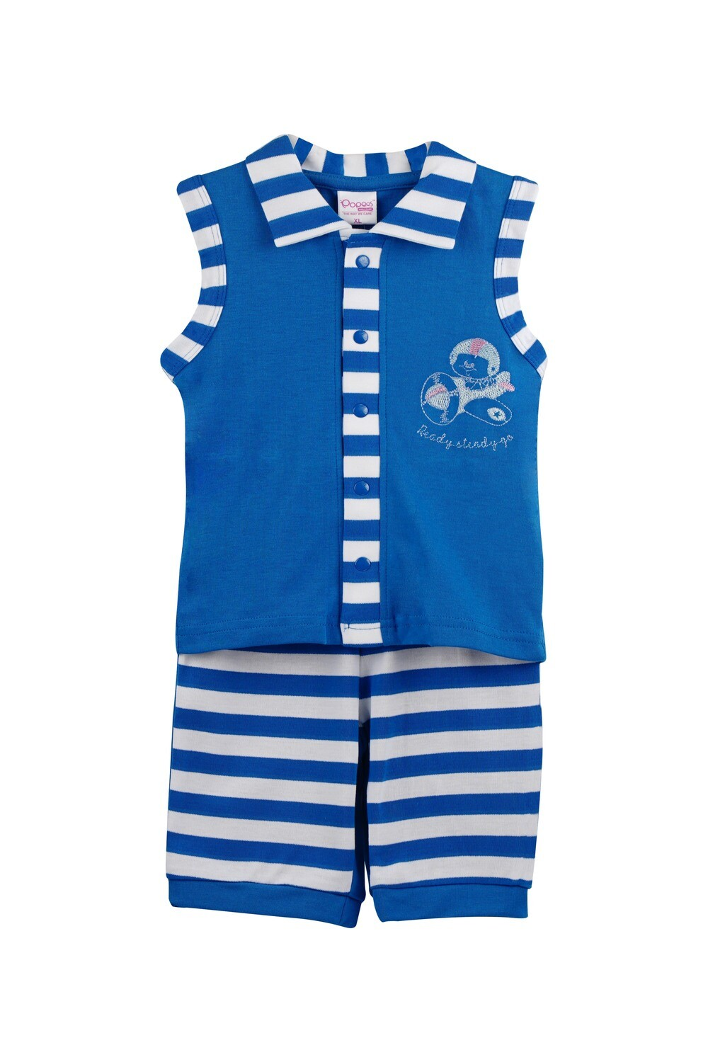Popees Chitwan Blue Color for Baby Boys (XL: 18-24 Months)
