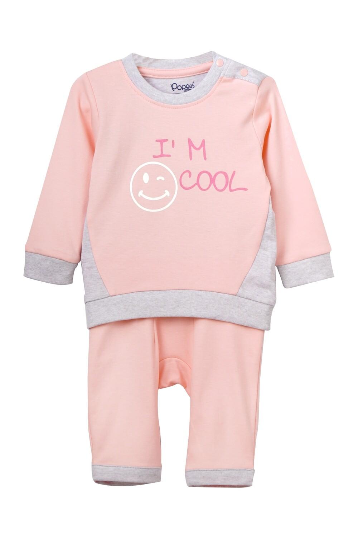 ZANE Rose & Pants Full Sleeve Shoulder Open Cotton Interlock  for Baby BOYS during Autumn-Winter