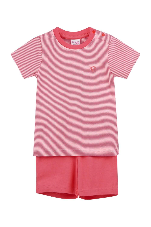 DICUR Corel Top/Shorts Half Sleeve Shoulder Open Interlock for Baby BOYS