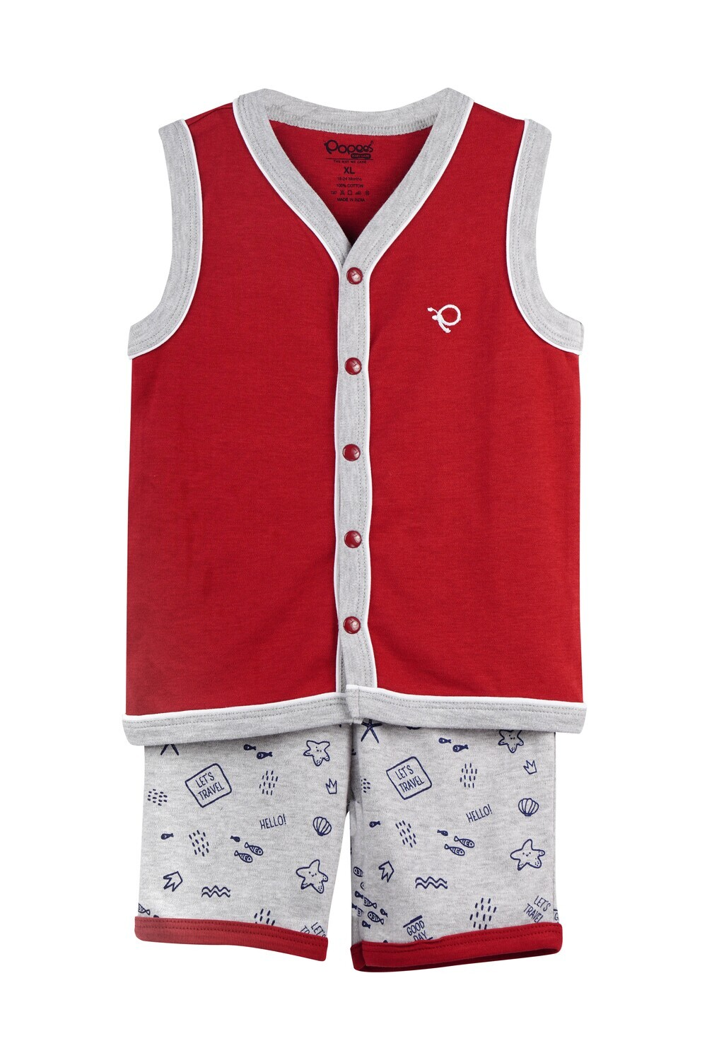 WELCH Garnet Top and Shorts Sleeveless for Baby Boys