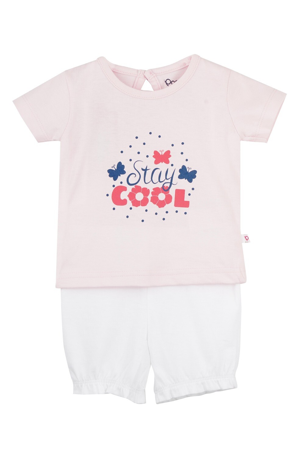 STRAWBERRY Fairy Tale Half sleeve Top and Panties for Baby Girls
