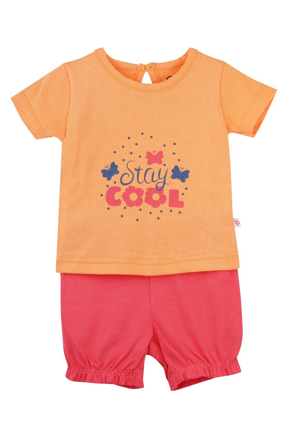 STRAWBERRY Cantaloupe Half sleeve Top and Panties for Baby Girls