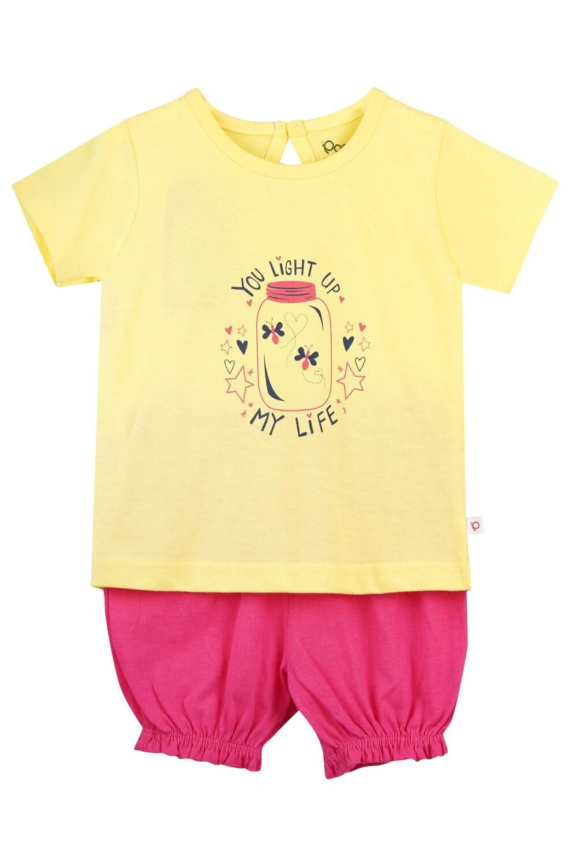 UNICORN Banana Half sleeve Top and Trouser for Baby Girls