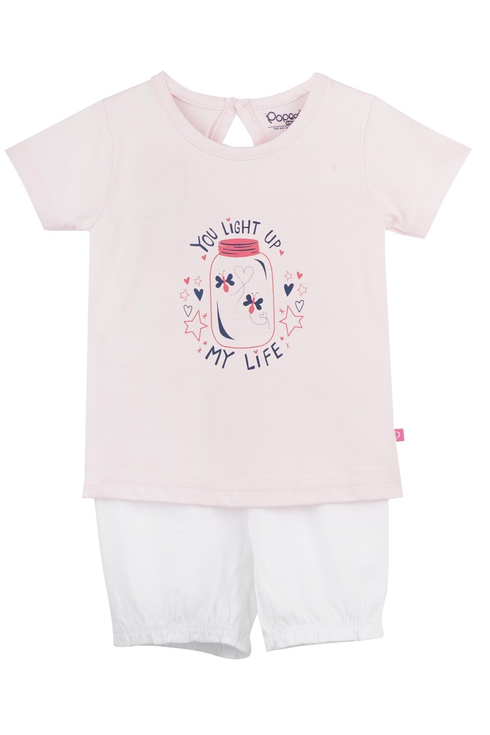 UNICORN Fairy Tale Half sleeve Top and Trouser for Baby Girls