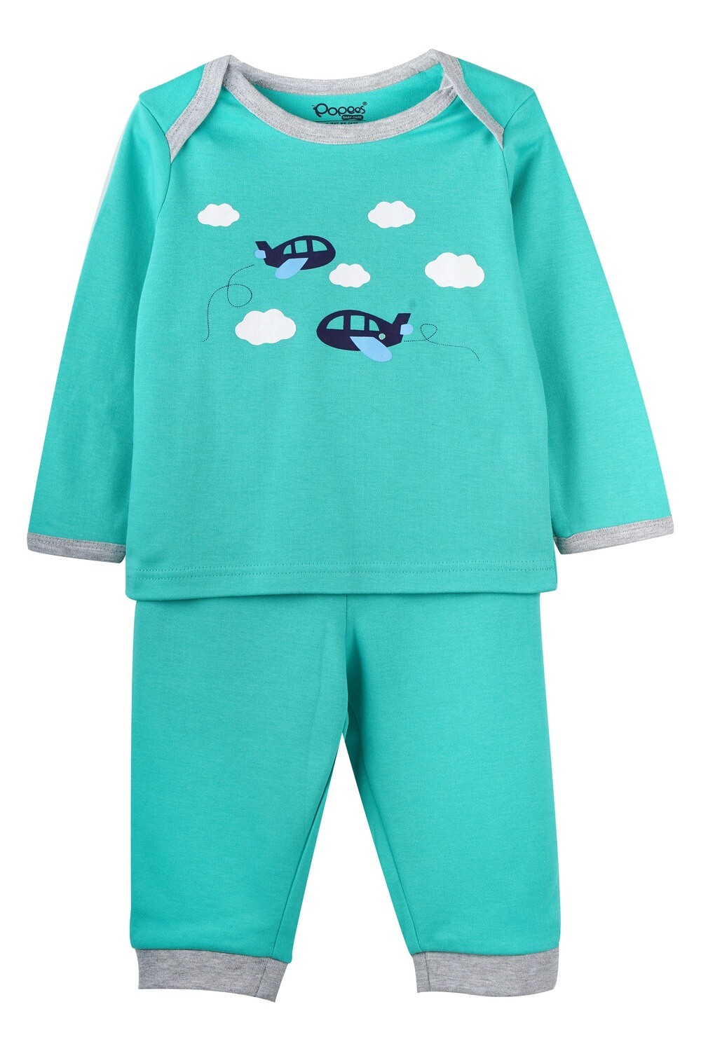KEDRICK WATER FALL Full Sleeve Top and Pant for Baby Boys