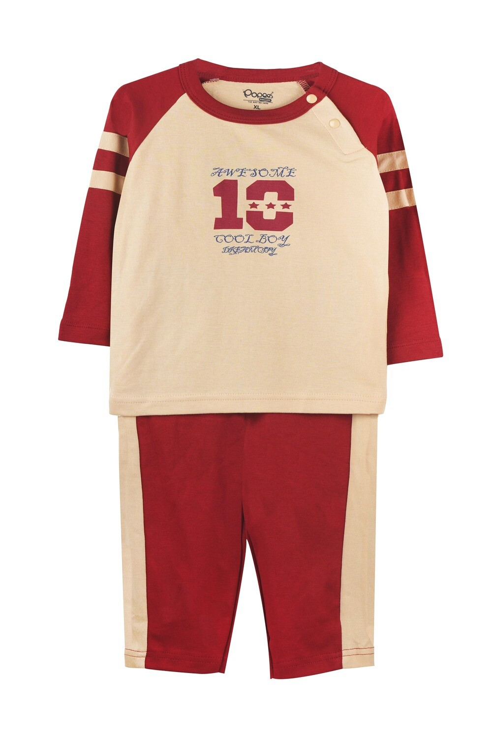 ELIGE GARNET Full Sleeve Top and Pant for Baby Boys