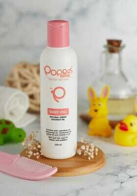Popees Baby Care Value Pack Virgin Oil - 35% Discount