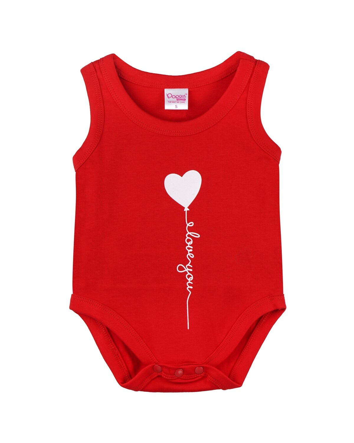 SPOCK RED Top/Trouser Half Sleeves Front Open Interlock for both Baby Boys and Girls UNISEX