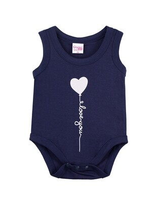 SPOCK NAVY BLUE Top/Trouser Half Sleeves Front Open Interlock for both Baby Boys and Girls UNISEX