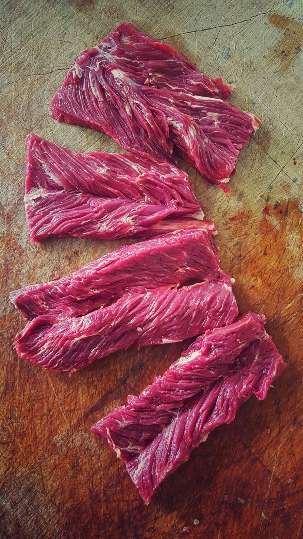 Dry Aged Hanger Steak 180gm