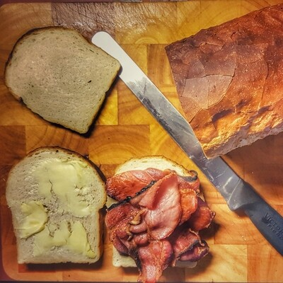 Dry Cured Shortback Bacon