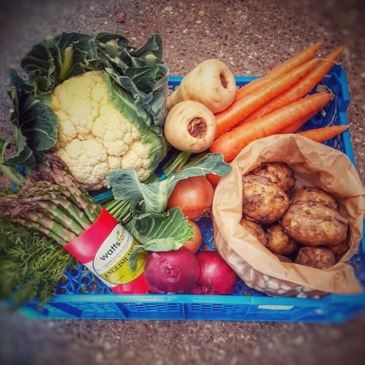 Seasonal Vegetable Box