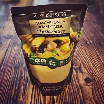Mascarpone & Roast Garlic Pasta Sauce