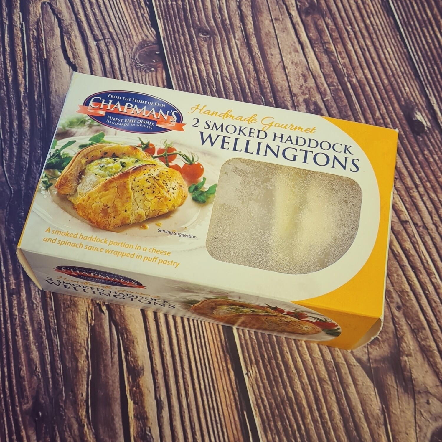 Smoked Haddock Wellingtons