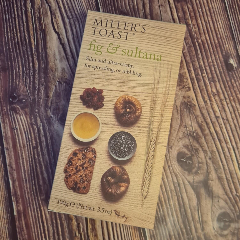 Fig & Sultana Toasts