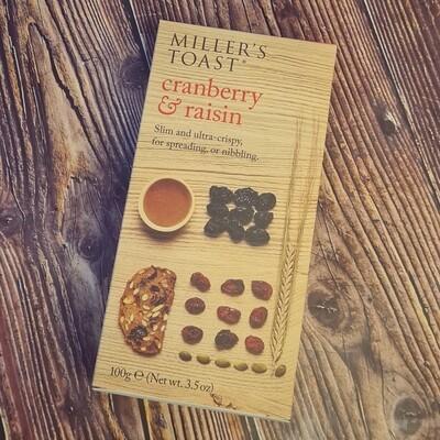 Cranberry & Raisin Toasts