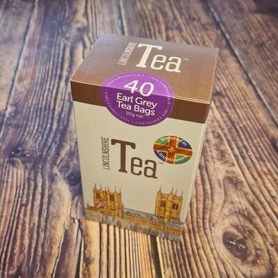Lincolnshire Tea 40 Bags Earl Grey