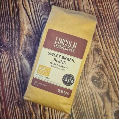 Lincoln Tea & Coffee Co Sweet Brazil Coffee Beans