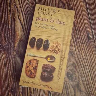 Plum & Date Toasts