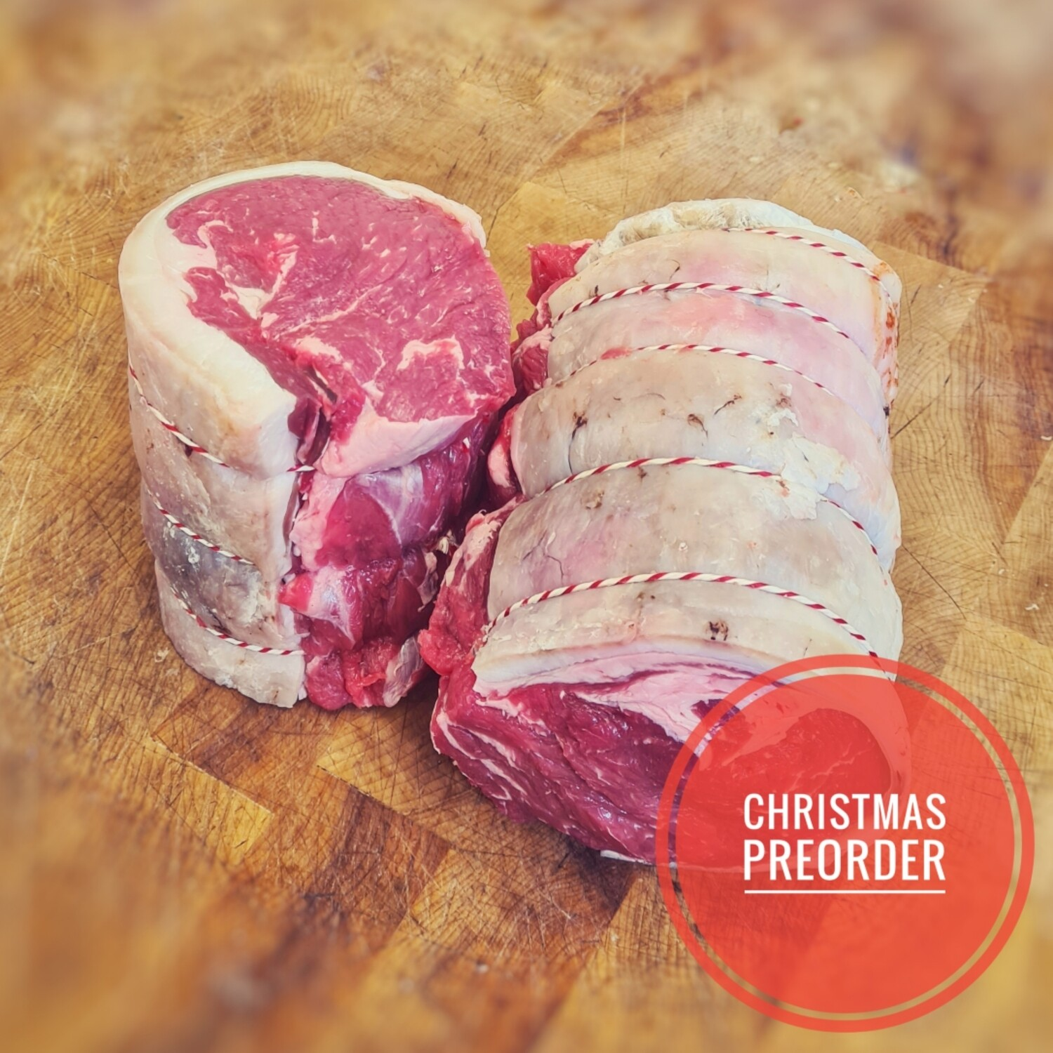 Preorder Dry Aged Rolled Sirloin