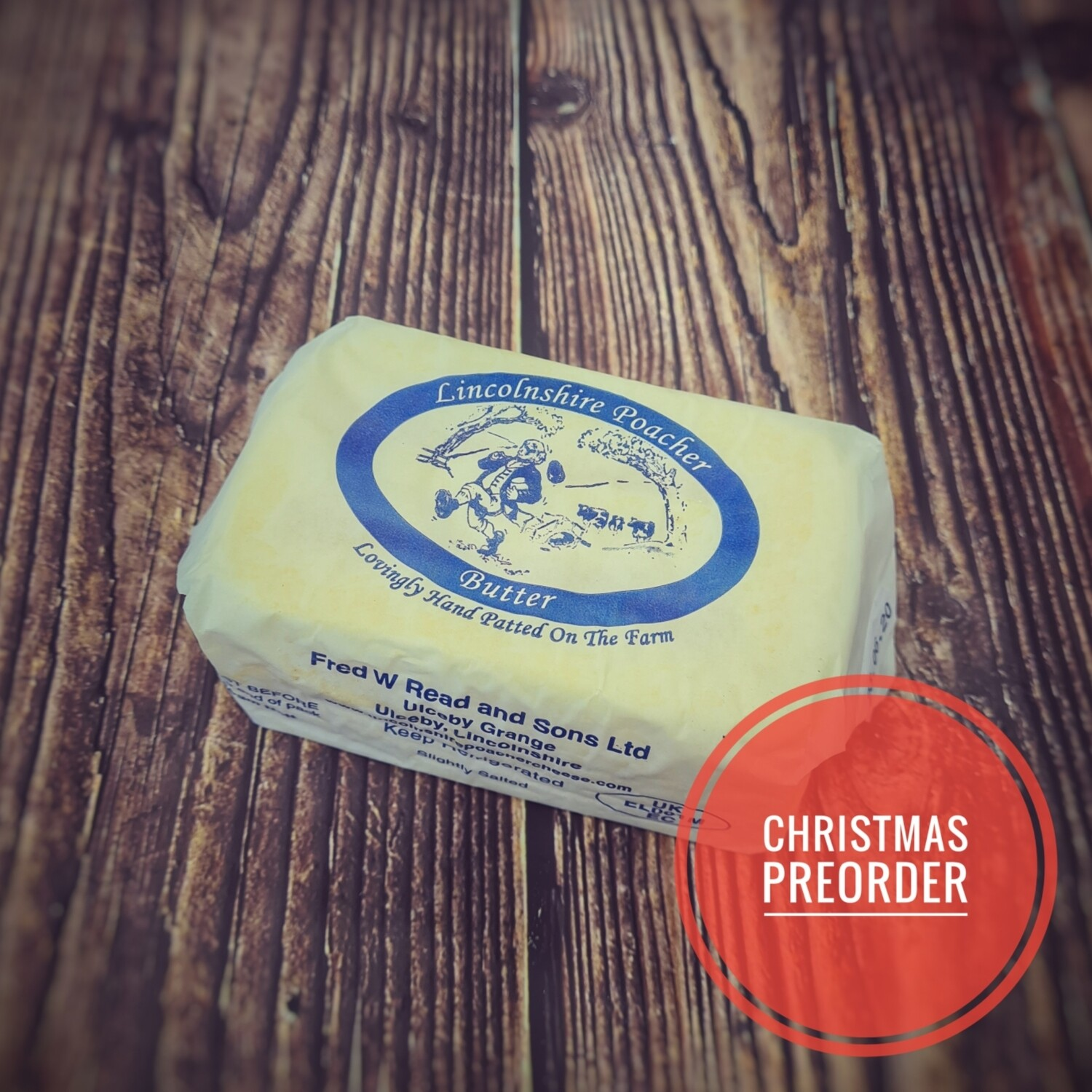 Preorder Lincolnshire Poacher Butter