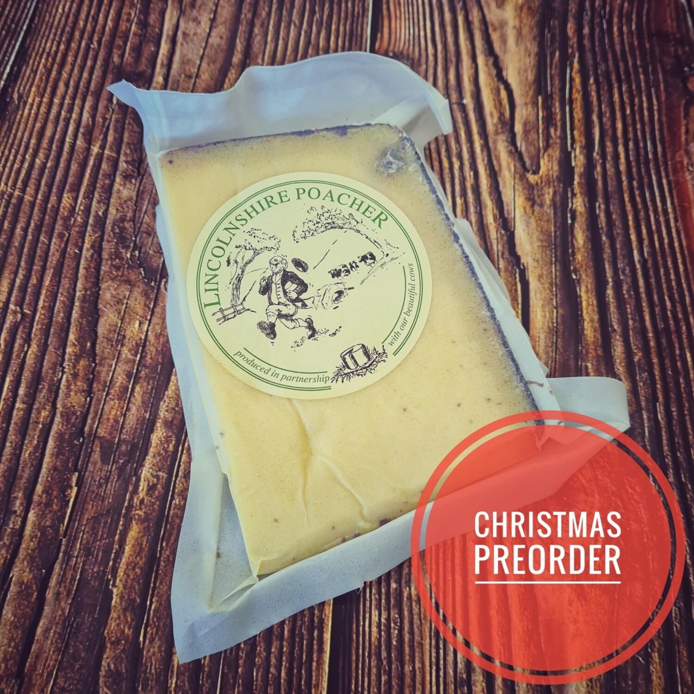 Preorder Lincolnshire Poacher Cheese