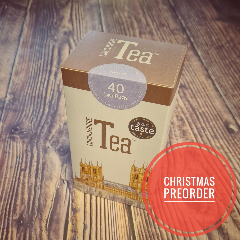 Preorder Lincolnshire Tea 40 Bags