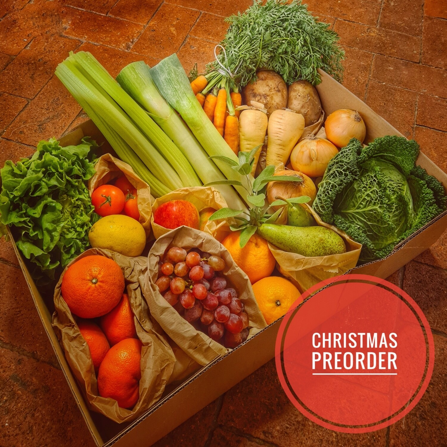 Preorder Greengrocers Christmas Selection Hamper