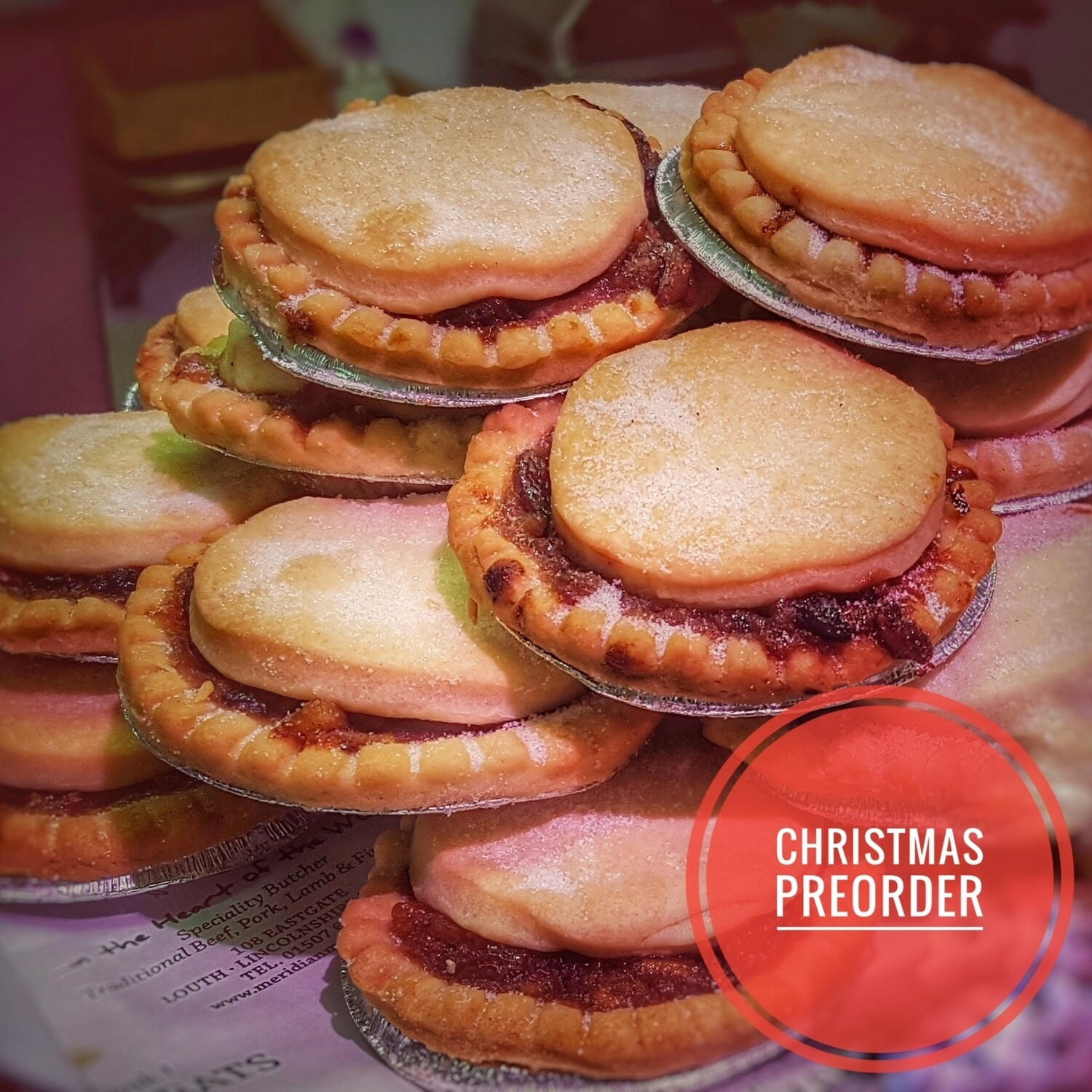 Preorder Homemade Mince Pies