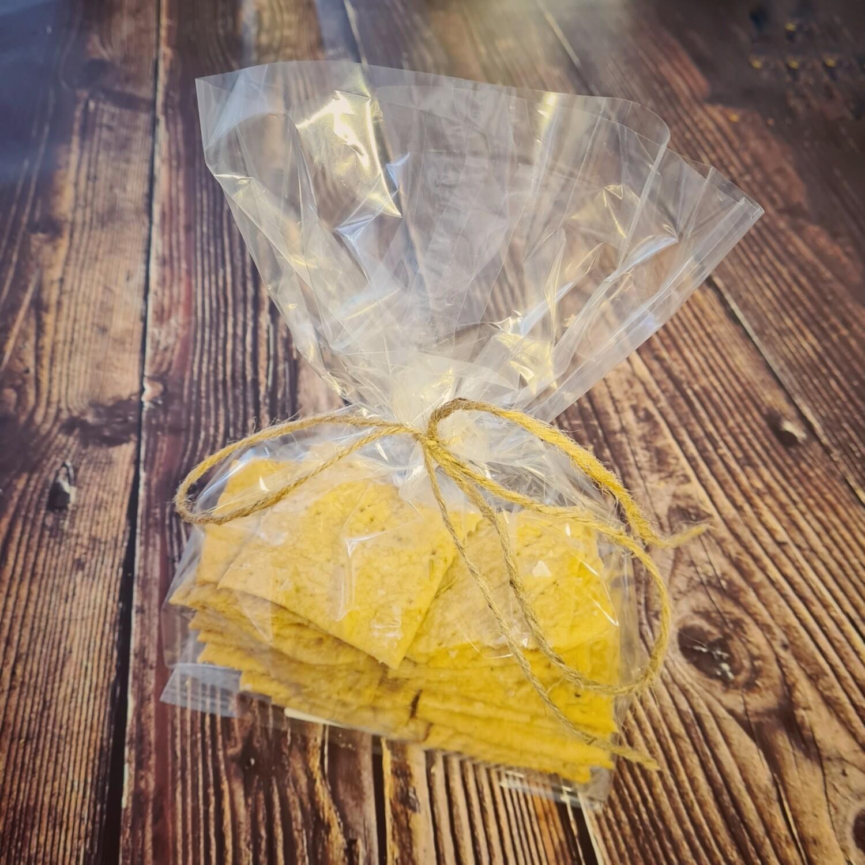 Homemade Sourdough Crackers