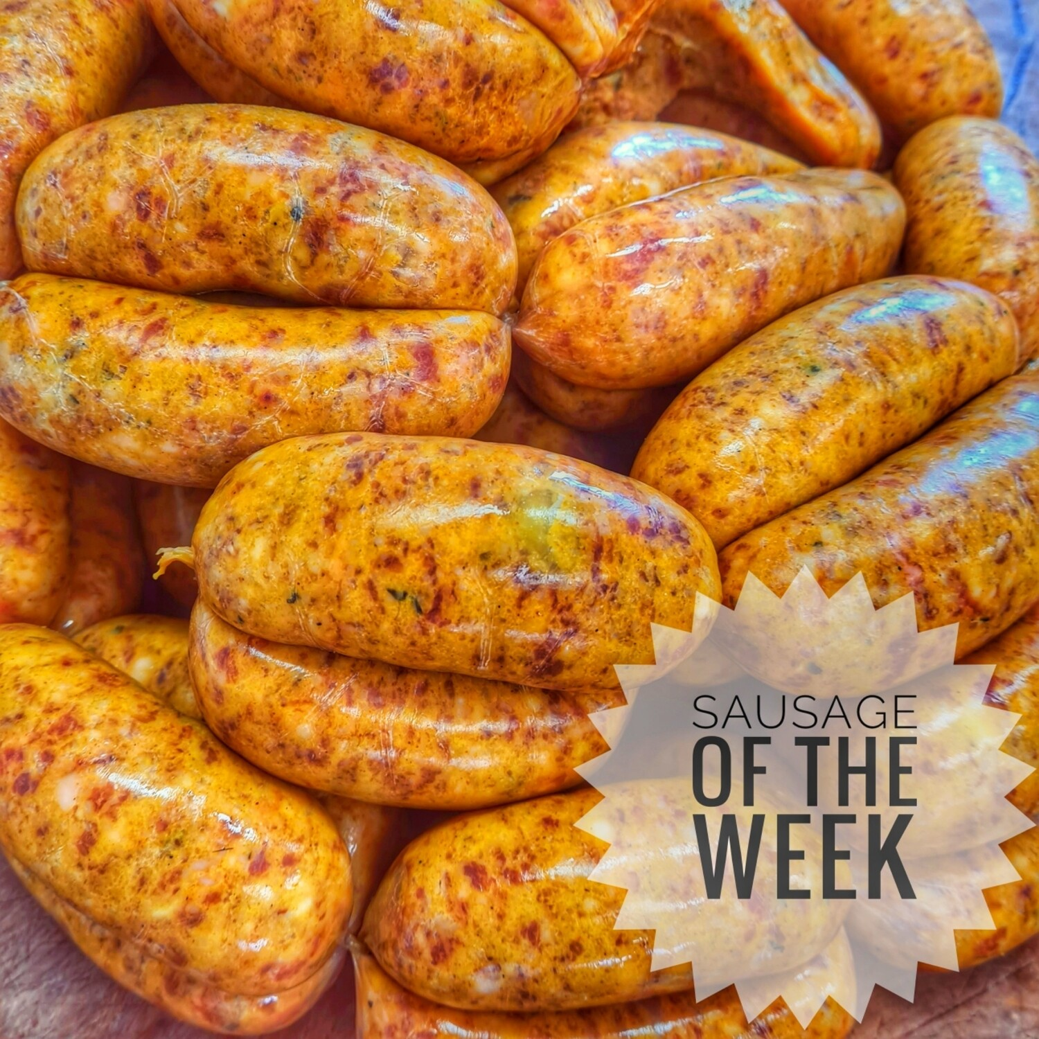 Curried Goat & Mango Sausages