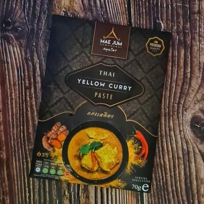 Mae Jum Thai Yellow Curry Paste