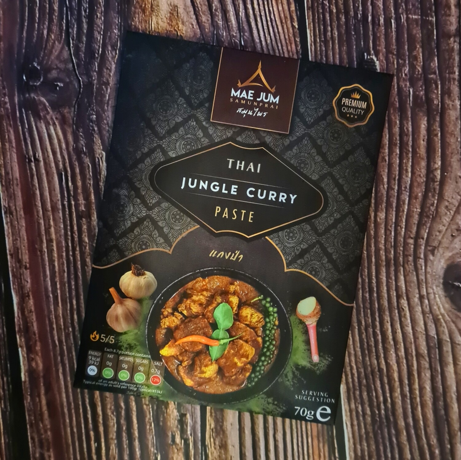Mae Jum Thai Jungle Curry Paste