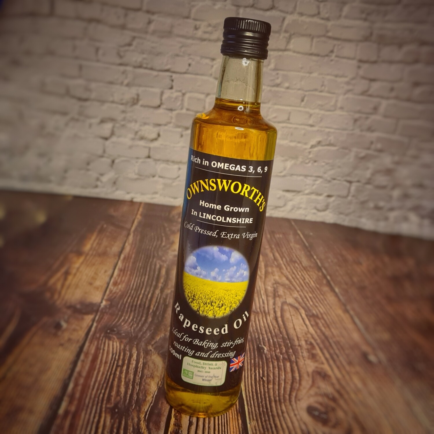 Preorder Local Rapeseed Oil