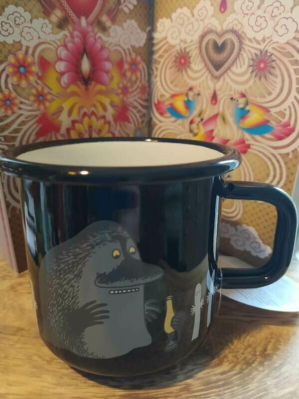 Muurla - Henkelbecher - Moomin Characters - schwarz