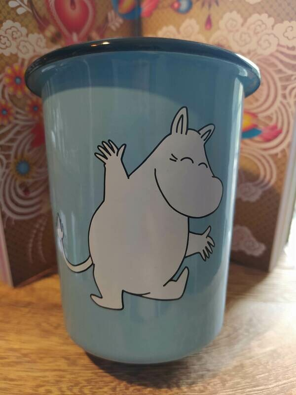 Muurla - Moomin Becher - hellblau
