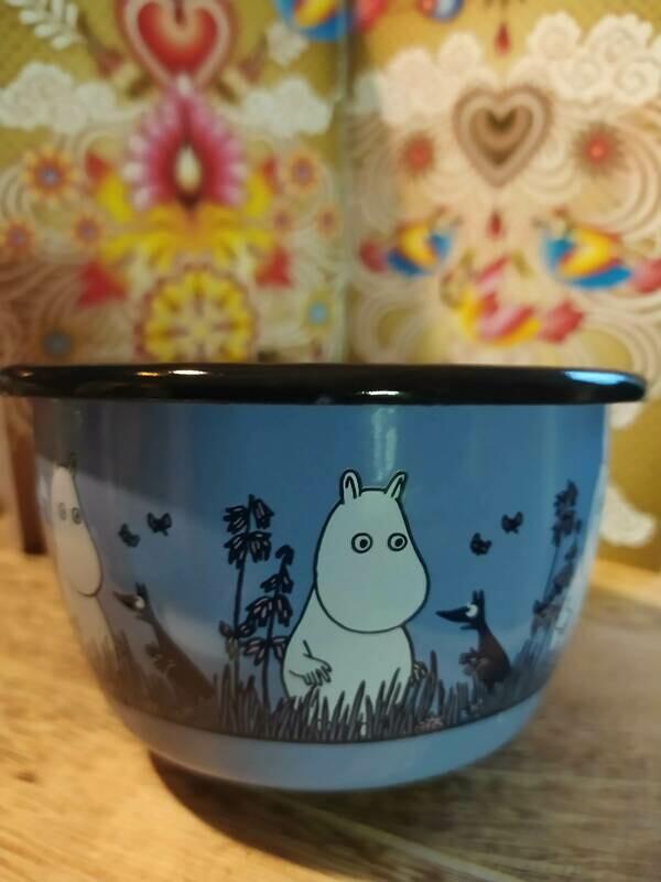 Muurla - Moomin Schale - blau