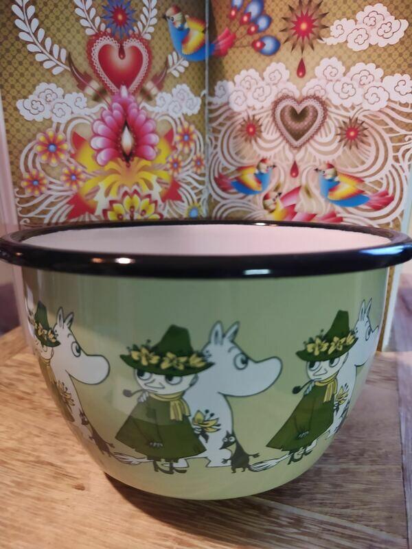 Muurla - Moomin Schale - grün