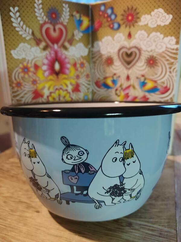 Muurla - Moomin Schale - hellblau