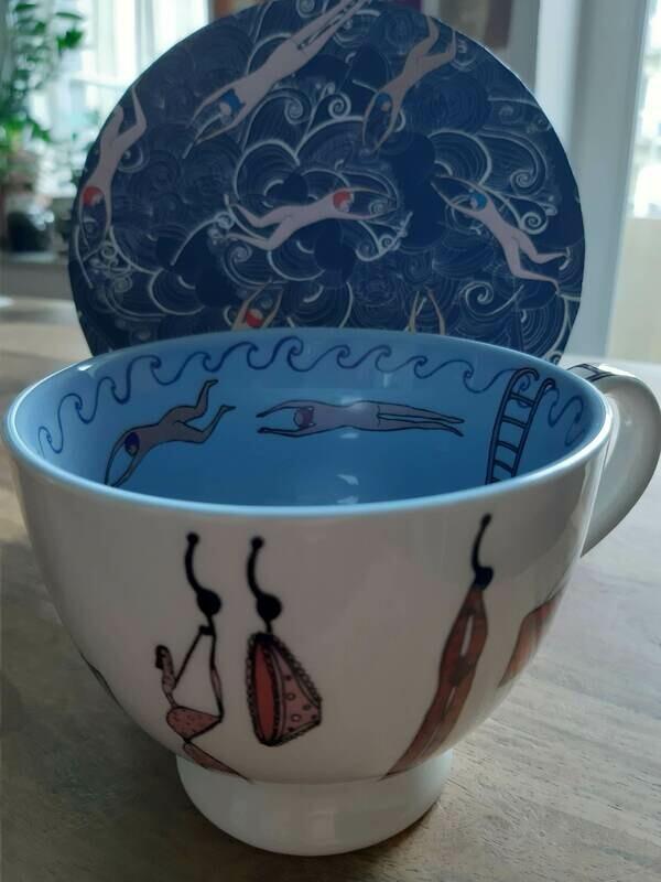 Große Tasse mit Geschenkverpackung